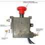 Автоматический аварийный выключатель 12V IP